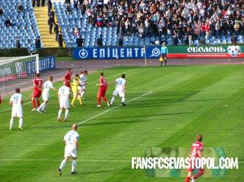Фотообзор матча ФК Севастополь - ФК Ильичёвец