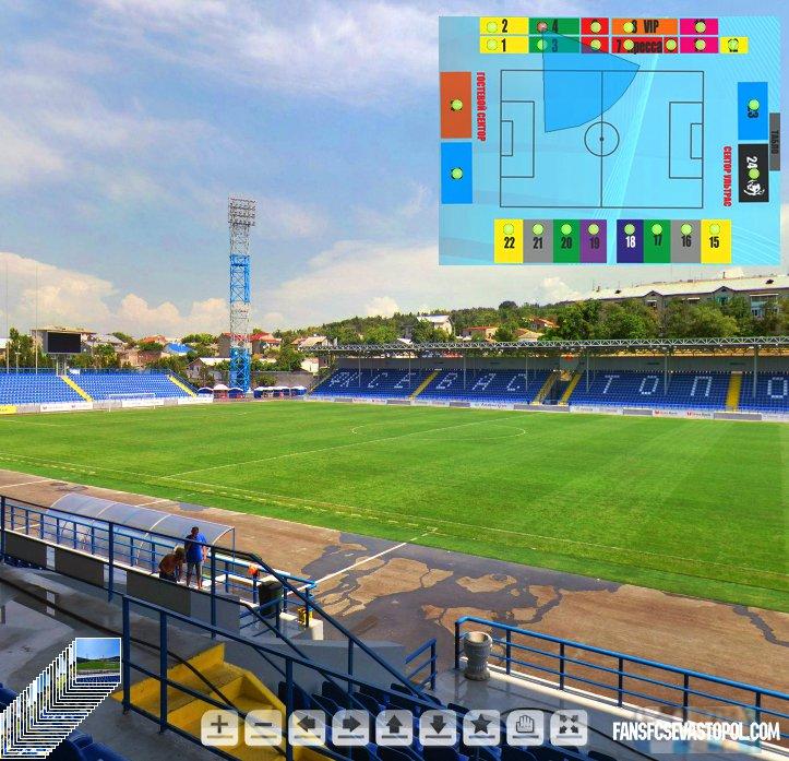 Виртуальный стадион ФК Севастополь
