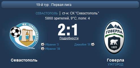 Севастополь - Говерла