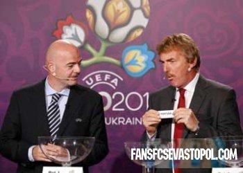 Жеребьевка euro 2012