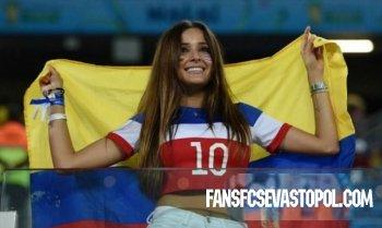 Лучшие девушки чемпионата мира по футболу 2014